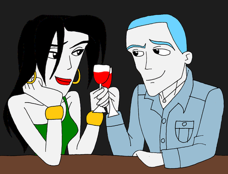 HTR: Andrew and Emily on a date by SUP-FAN