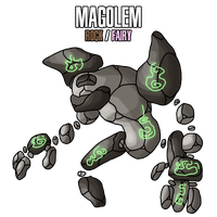 imaginationkid Fakemon commission 2 by MTC-Studios