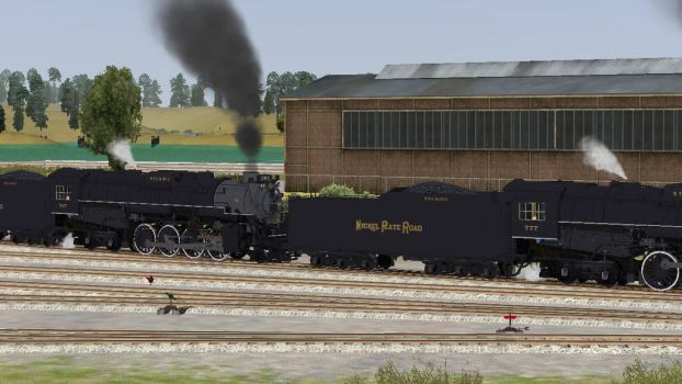 if 777 and 767 were steam engines by JasonThe14xx