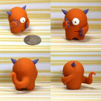 Kinser the Timid Monster by TimidMonsters