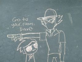 Homestuck Chalk 2 by MochaTheDog