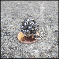 Stainless Steel Ball Pendant by ArmoredKoi