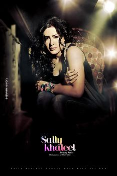 Sally Khaleel Poster 2 by adriano-designs