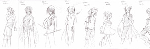 The Gijinka Project: 91 to 100 by b0409d