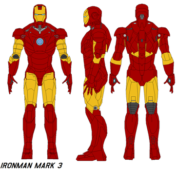 ironman mark 3 armor by bagera3005