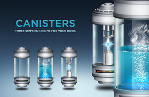 Canister Dock Icons by thejuneskies