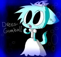 Girl-Gumball by KaziaBlaze