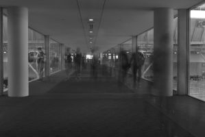 We Pass Each Other, Like Ghosts in the Hall (2) by wagn18
