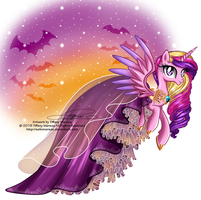 Princess Cadence - Special Halloween Dress by selinmarsou