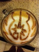 Jedi Alliance Latte by Coffee-Katie
