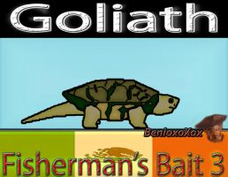 Goliath from Big Ol' Bass fisherman's bait 3 by BenioxoXox