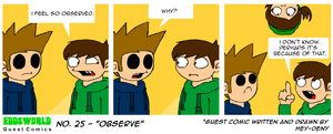 EWGUESTCOMIC No. 25 - Observe by SuperSmash3DS