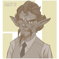 Movember day 08 by Gaugex