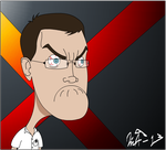 Angry Video Game Nerd by Kurvos