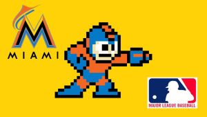 Mega Man MLB Series: Miami Marlins by Indy1988