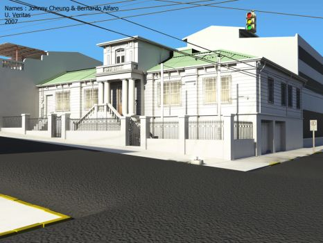 3d house ?, hehe. by CheungKinMen