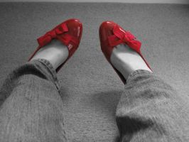 red shoes by zenzo1986