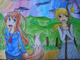 horo and nora by meepy-sheepy