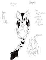 Psyka (Stripes) Ref Crystal Beasts by Rae-Chan13