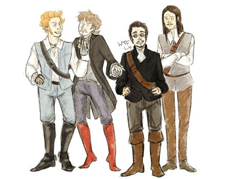 Young One Musketeers by AerinTook