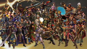 Dynasty Warriors 4 Roster by The4thSnake