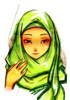You are the Muslimah by kapaww