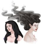 Luthien and Melian by Amnevitah
