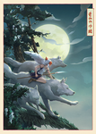 .ride of the wolf clan by ml-11mk