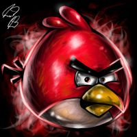 Angry Birds Fan Art by TheKidOfDrawing