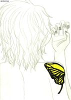 +Butterfly on Your Right Shoulder ~ Rin version+ by saritacrazy