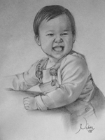 Baby Portrait by charu-san