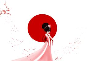 Japan by Iridescence-art