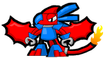 Mixels: Drazor Cartoon Version Remake by DarkTidalWave