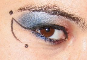 Eye Design - Libra Right Side by oleanderchardonai