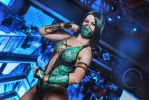 Cosplay Jade from MK9 by Nemu013