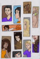 Heroes of Olympus by PrillaLightfoot