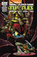 TMNT New Animated Adventures 21 Cover by Red-J