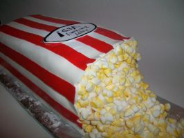 Popcorn cake by Golden-Phoenix0-0