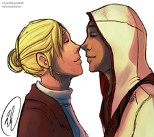 Collab: Eskimo Kisses by Ericanii