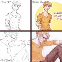 Newt Collab :) by Dinoralp