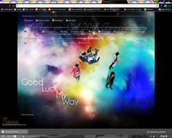 GLMW Theme for Google Chrome by hanayume000