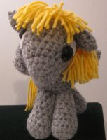 My Little Pony - Baby Derpy Hooves - front view by kaerfel