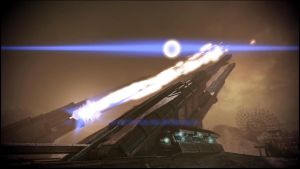Mass Effect 3 Tuchanka Firing Weapon Dreamscene 2 by droot1986