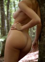 girl in the woods 2 by Vinc71