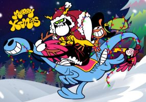 WOY:happy holidays by Quere