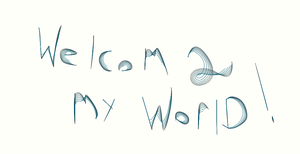 welcome 2 my world :)  now live with it! by thejamesstark