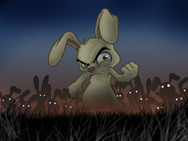 Rise of the bunnies... by Neoelfeo