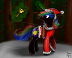 :GA: Unicorn Santa Claus by Ruby-Orca-616