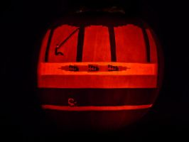 Pitfall Pumpkin by ceemdee