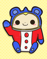 Teddie from Persona 4 by siristar